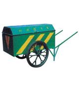人力垃圾清运车 HCC006,垃圾清运车,手推垃圾车,带盖子垃圾车