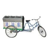 城市人力三轮垃圾清运车 HCC011,垃圾清运车,人力三轮垃圾清运车