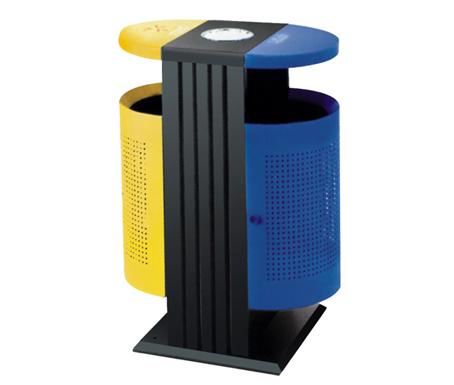 分类垃圾桶 钢制垃圾桶 冲孔垃圾桶