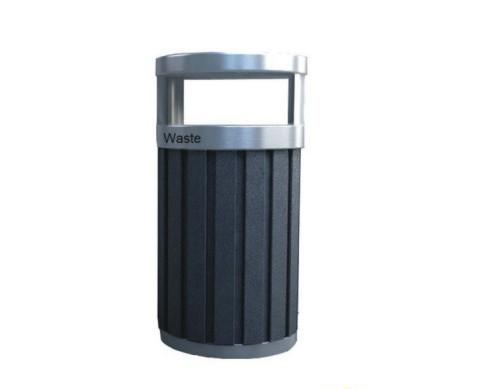 环保材质不锈钢垃圾桶 hc8012