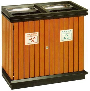 钢木分类垃圾桶 垃圾桶厂家直供垃圾桶 垃圾桶