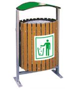 【环畅品牌】木条环保垃圾桶 HC8007
