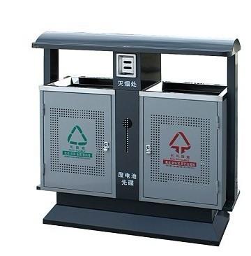户外钢板分类垃圾桶 冲孔垃圾桶HC2250,钢板垃圾桶,户外分类垃圾箱,小区垃圾桶