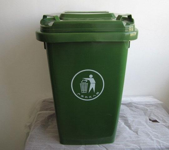 50L塑料yabo亚博体育下载 可移动50L塑料垃圾箱 脚踏50L塑料垃圾箱