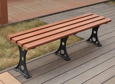 塑木休闲凳 塑木休闲椅