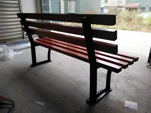 户外小区公园铸铁/铸铝靠背休闲椅 HCY058