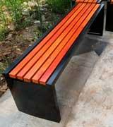 广场休闲椅长凳 HCY059,广场休闲椅,户外休闲椅,公园座椅,钢管座椅,实木休闲凳